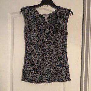 """LOFT Short Sleeves Top. (Size M) """"Make An Offer"""""""